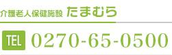 介護老人保険施設 / たまむら:tel:0270-65-0500